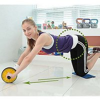 AB WHEEL / AB ROLLER WITH FREE MAT (IMPORTED)