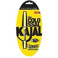 Maybeline The Colossal Kajal 0.35 G Black (Pack Of 2)