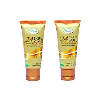 Luster Gold Face Pack For Ultra Radiance (Pack of 2)