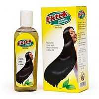 Ektek Herbal Hair Oil(Nourishes Scalp With Natural Proteins & Olive Oil)