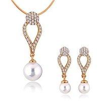 Alamod Fashion Tansy Pearl Pendant Set ALPS 5003
