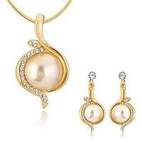 Alamod Fashion Hashy Pearl Pendant Set ALPS 5009