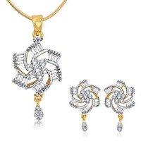 Alamod Fashion Phool Chakri Pendant Set ALPS 5031