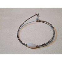 Silver Plated Bracelet Medium Size