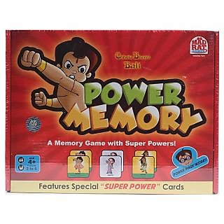 Chhota Bheem Power Memory Game