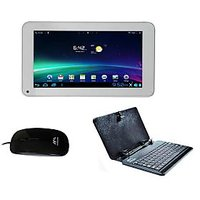 Ambrane A-707 Tablet Cum Mini Laptop With Free Tablet Keyboard & Mouse