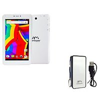 Ambrane A3-7 Plus 3G Calling Tablet With Free Ambrane P-440(4000mAh) Power Bank