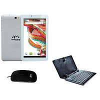 Ambrane A3-770 Duo 3G Calling Tablet Cum Mini Laptop With Free Keyboard & Mouse.