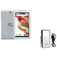 Ambrane A3-770 Duo 3G Calling Tablet With Free Ambrane P-440(4000mAh) Power Bank