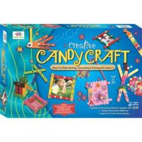 Creative Candy Craft, Have Fun With Painting, Decorating & Sticking The Sticks!!