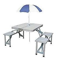 Aluminium Picnic Table Folding