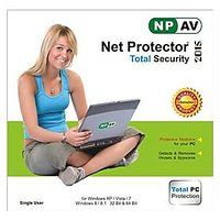 Net Protector Total Internet Security And PC Protection 2015 -1 PC 1 Year - 72634964