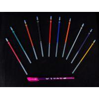 Multi-Colored Glitter Gel Pen With 10 Interchangeable Refills (Set Of 3)