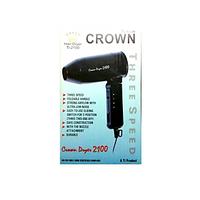Hair Dryer / 3 Speed Hair Dryer / Foldable Handle/Crown Branded  Hair Dryer