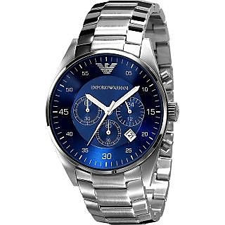Emporio Armani Blue Dial Chronograph Watch For Men Ar5860