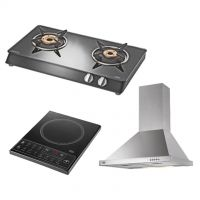Kaff Elba - 60 Chimney + Kin 36 Induction Cook Top + KC 30 GBK 2B Cook Top