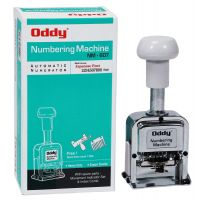 Oddy Auto Numbering Machine 6 Digits With JAPANESE FONT STYLE & Spare Parts