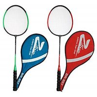 Zillion Badminton Racket[BR-807(RED)+BR-807(GREEN)]