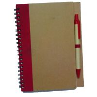 Hand Made Diary/Notebook With Pen