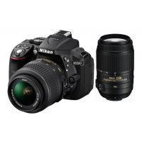 Nikon D5300 SLR With AF-S 18 55 Mm VR Kit Lens, Black