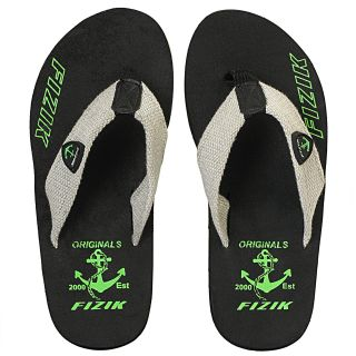 FIZIK MEN'S FITCH FLIP FLOP BLACK GREEN