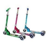 Foldable Kids Scooter Cycle 3 Wheel Scooter Height Adjustable Kids Hand Brake - 72762270