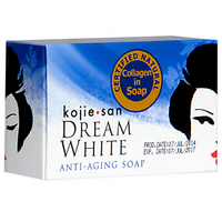 KOHIE SAN SOAP - KOHIE SAN  DREAM WHITE ANTI-AGING AMAZING SOAP.