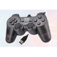 USB GamePad To Play Games For PC / Laptop Analog Joystick Double Shock Vibration