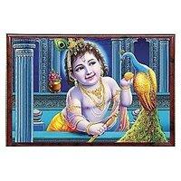 Pictorial Bal Krishna 3D Photo Frame