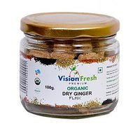 Vision Fresh Organic Dry Ginger ( Flax) 100 Gms