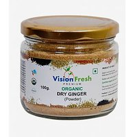 Vision Fresh Organic Dry Ginger ( Powder) 100 Gms