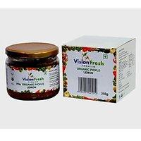Vision Fresh Organic Lemon Pickle 250 Gms