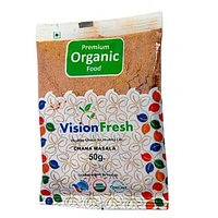 Vision Fresh Organic Chana Masala 50 Gms
