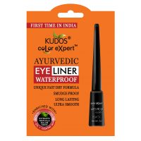 Kudos Color Expert Ayurvedic Waterproof Eye Liner Smudge Proof  (Pack Of 3)