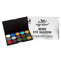 Kudos Color Expert Wink Eye Shadow Palette-A (3.8gX 15pcs.)