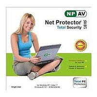 Net Protector Total Internet Security And PC Protection 2015 -1 PC 1 Year - 72840218