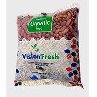Vision Fresh Organic Rajma Chitra 500 Gms