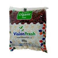 Vision Fresh Organic Rajma Jammu 500 Gms