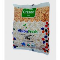 Vision Fresh Organic Arhar Split 500 Gms