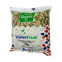 Vision Fresh Organic Green Gram (Moong Split) 500 Gms