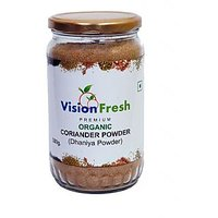Vision Fresh Organic Coriander (Powder) 300 Gms