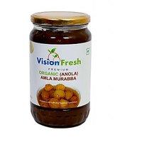 Vision Fresh Organic Amla Murabba 800 Gms