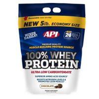 API 100% Whey Protein Chocolate Flavour-5 Lbs