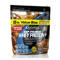 Muscletech 100% Premium Whey Protein Plus Deluxe Chocolate Flavour- 5 Lbs