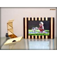 Wooden Photo Frame With Stand - JF2024 - 6x8