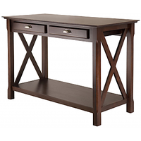 Afydecor Console Table In French Country Style With Storage