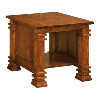 Afydecor Vintage End Table