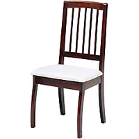 Afydecor Comfortable Orthodox Slatted Back Side Chair(set Of 6)