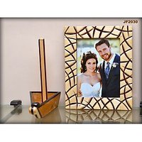 Wooden Photo Frame With Stand - JF2030 - 8x6