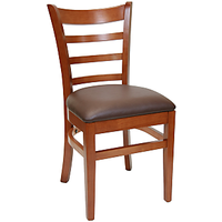 Afydecor Dining Chair In A Ladder Back Style(set Of 6)